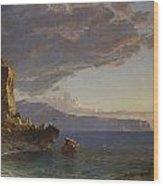 The Isle Of Capri Wood Print