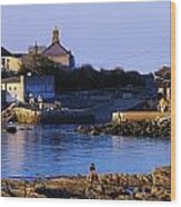 The James Joyce Tower, Sandycove, Co Wood Print