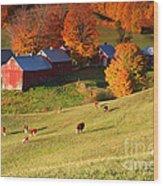 The Jenne Farm Wood Print
