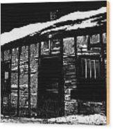 The Jones  Wood Print by Empty Wall
