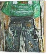 The Kid Lanscaper Wood Print