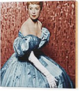 The King And I, Deborah Kerr, 1956 Wood Print by Everett