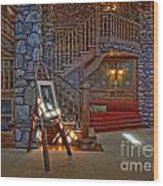 The King's Living Room Wood Print by Susan Candelario