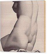 The Lady Wood Print