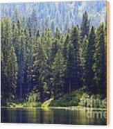 The Lake Wood Print