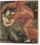 The Lamentation Wood Print