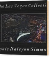 The Las Vegas Collection Wood Print