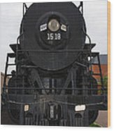 The Last Iron Horse Loc 1518 In Paducah Ky Wood Print