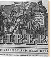 The Liberator Masthead Wood Print
