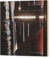 The Light Enters Barn Wood Print