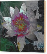 The Light From Within Wood Print by Cheri Doyle