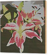 The Lily 1 Wood Print