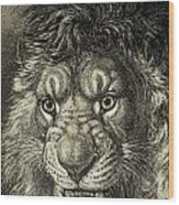 The Lion, King Of Beasts.  From El Wood Print