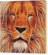 The Lions King Wood Print