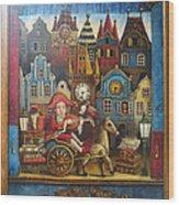 The Little Mozart Wood Print