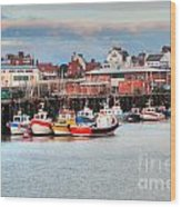 The Lobster Quay Wood Print