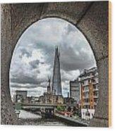 The London Shard Wood Print