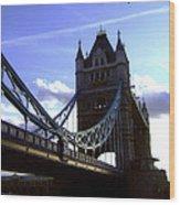 The London Tower Bridge Wood Print