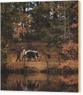 The Long Haul Home Wood Print