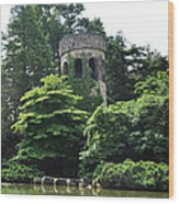The Longwood Gardens Castle Wood Print