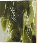 The Look Of Medusa Wood Print