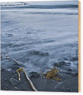 The Lovely Seascape Wood Print