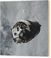 The Lunar Module Spider Of The Apollo 9 Wood Print