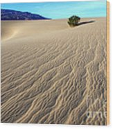 The Magic Of Sand Wood Print