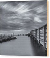 the magic of the Big Stopper Wood Print