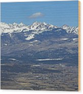 The Mancos Valley Wood Print