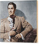 The Mark Of Zorro, Tyrone Power, 1940 Wood Print by Everett