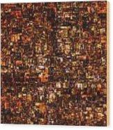 The Masses Of Metropolis Wood Print