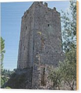The Medieval Tower Wood Print