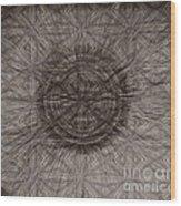 The Meeting Wood Print