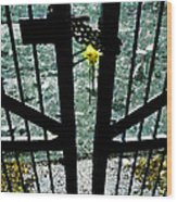 The Memorial Gates Wood Print