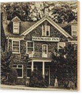 The Mermaid Inn - Chestnut Hill Wood Print