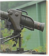 The Milan, Guided Anti-tank Missile Wood Print