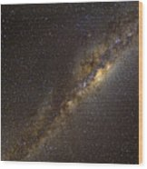 The Milky Way Wood Print