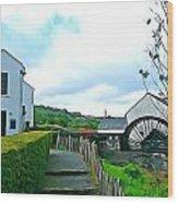 The Mill Wood Print
