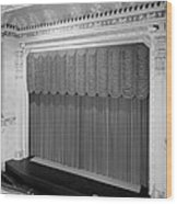 The Missouri Theater Building, View Wood Print