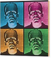 The Monster X 4 Wood Print by Gary Grayson