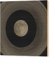 The Moon Within The Moon Wood Print
