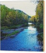 The Moyie River Near Yak B C Wood Print