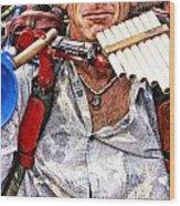 The Music Man Wood Print