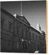 The National Archives Of Scotland General Register House Edinburgh Scotland Uk United Kingdom Wood Print