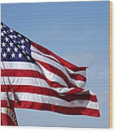 The National Colors And Official Colors Wood Print