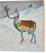 The New Rudolph Wood Print
