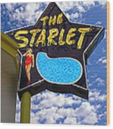 The New Starlet Wood Print by Ron Regalado