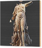 The Nike Of Paeonios - Ancient Olympia Wood Print