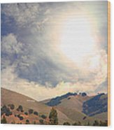 The Niles Sign In The Hills Of Niles California . 7d12707 Wood Print